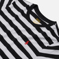 Женская футболка Polo Ralph Lauren Striped Cotton Jersey White/Black фото - 1
