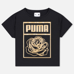 Puma x Careaux Logo Women's t-shirt Black photo- 0