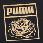 Puma x Careaux Logo Women's t-shirt Black photo- 2