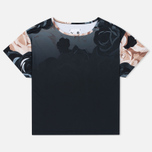 Puma x Careaux Logo Flower AOP Women's T-shirt Black photo- 0