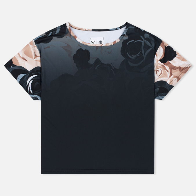 Puma x Careaux Logo Flower AOP Women's T-shirt Black