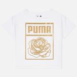 Puma x Careaux Logo Women's t-shirt White photo- 0
