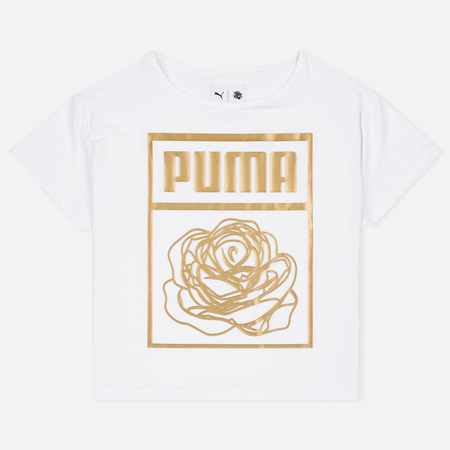 Puma x Careaux Logo Women's t-shirt White