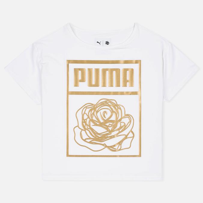 Puma x Careaux Logo Women's t-shirt White