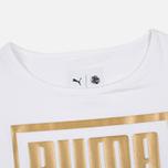 Puma x Careaux Logo Women's t-shirt White photo- 1
