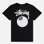 Женская футболка Stussy 8 Ball Boyfriend Black фото- 3