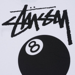 Женская футболка Stussy 8 Ball Boyfriend White фото- 4
