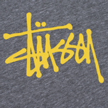 Женская футболка Stussy Basic 3/4 Raglan Grey Heather фото- 2