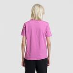 Женская футболка Stussy Basic Logo Berry фото- 3
