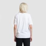 Женская футболка Stussy Basic Logo White фото- 2
