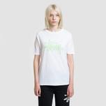 Женская футболка Stussy Basic Logo White фото- 1