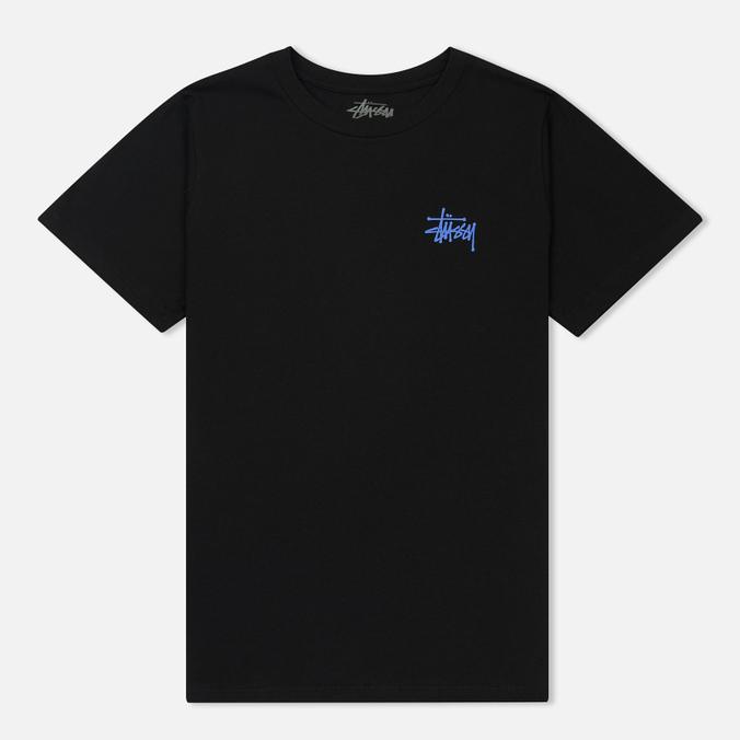 Женская футболка Stussy Basic Stussy Boyfriend Black