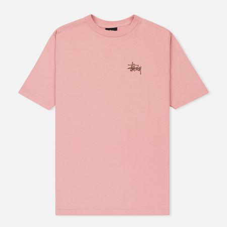 Женская футболка Stussy Basic Stussy Dusty Rose