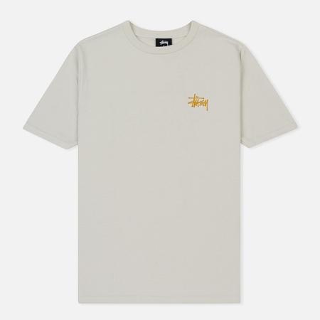 Женская футболка Stussy Basic Stussy Printed Logo Stone