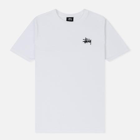 Женская футболка Stussy Basic Stussy White