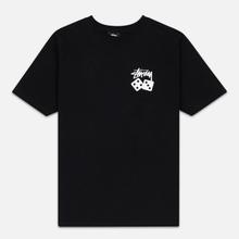 Женская футболка Stussy Dice Black фото- 0