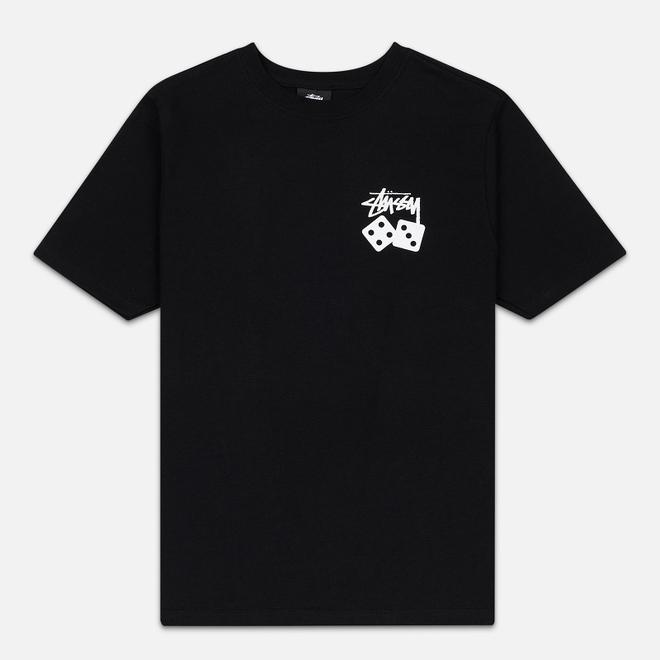 Женская футболка Stussy Dice Black
