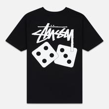 Женская футболка Stussy Dice Black фото- 3