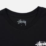 Женская футболка Stussy Dice Cuff Black фото- 1