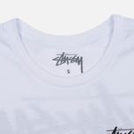 Женская футболка Stussy Dice Cuff White фото- 1