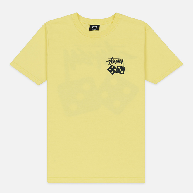 Женская футболка Stussy Dice Lemon