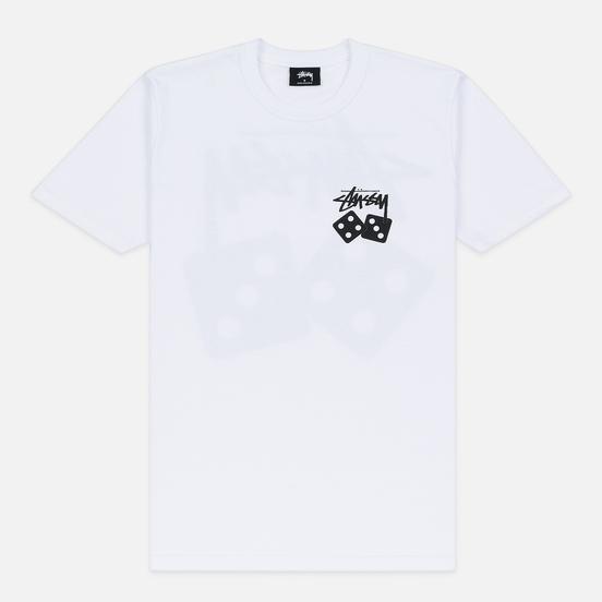 Женская футболка Stussy Dice White