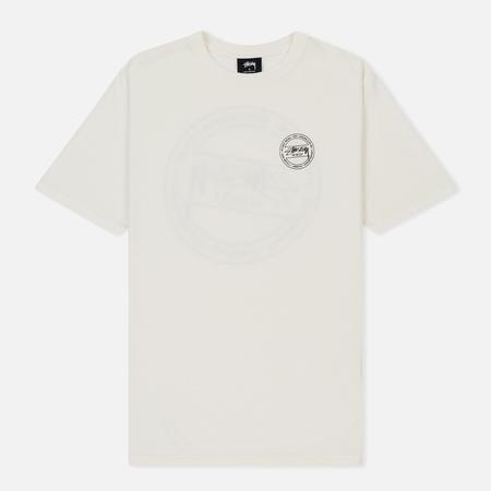 Женская футболка Stussy Laguna Dot Natural