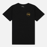 Женская футболка Stussy Old Stamp Boyfriend Black фото- 0