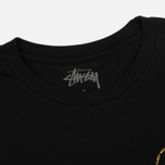 Женская футболка Stussy Old Stamp Boyfriend Black фото- 1