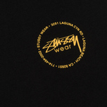 Женская футболка Stussy Old Stamp Boyfriend Black фото- 2