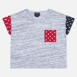 Женская футболка Stussy SS Stripe Mixte Multicolour фото- 0