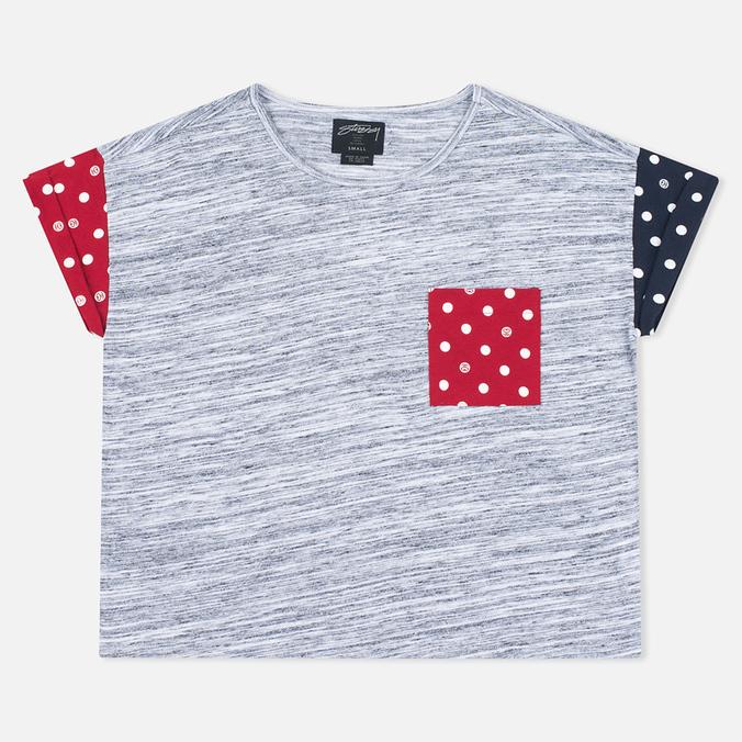 Женская футболка Stussy SS Stripe Mixte Multicolour