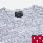 Женская футболка Stussy SS Stripe Mixte Multicolour фото- 1