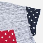 Женская футболка Stussy SS Stripe Mixte Multicolour фото- 3