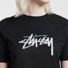 Женская футболка Stussy Stock Black фото- 2