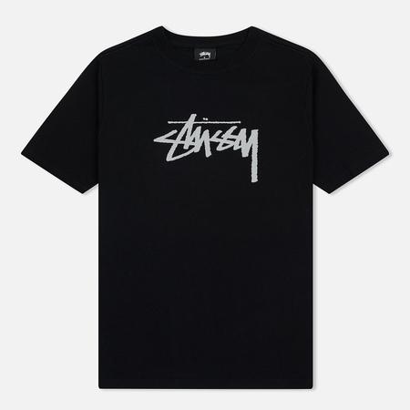 Женская футболка Stussy Stock Black