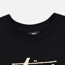 Женская футболка Stussy Stock Black/Beige фото- 1