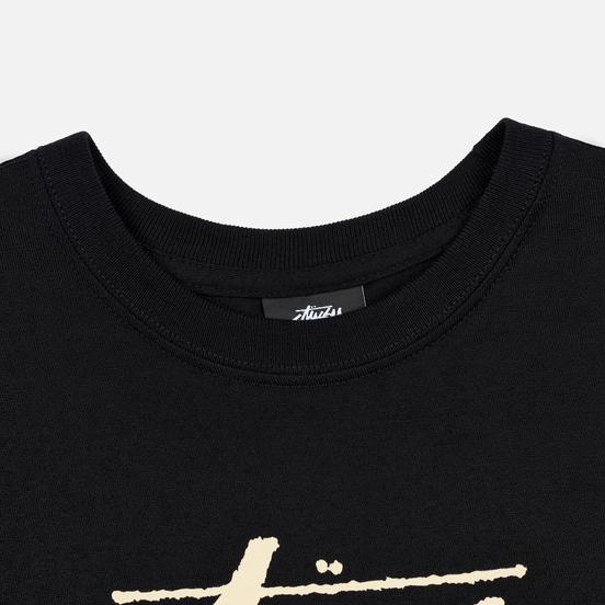 Женская футболка Stussy Stock Black/Beige