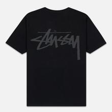 Женская футболка Stussy Stock Black/Grey фото- 1