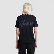 Женская футболка Stussy Stock Black/Grey фото- 4