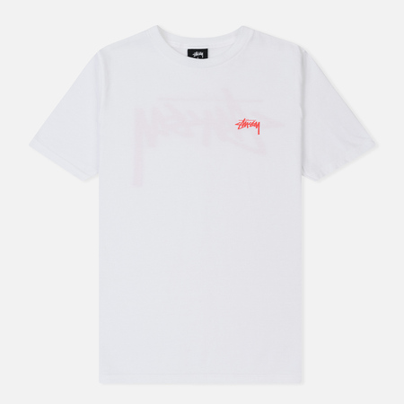 Женская футболка Stussy Stock White