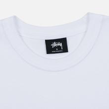 Женская футболка Stussy Stock White/Black фото- 1