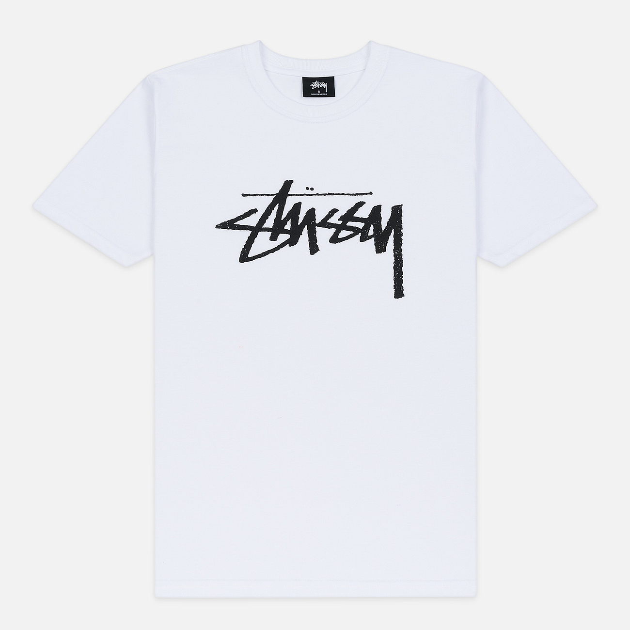 Женская футболка Stussy Stock White/Black