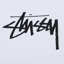 Женская футболка Stussy Stock White/Black фото- 2