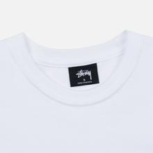 Женская футболка Stussy Stock White/Blue фото- 1