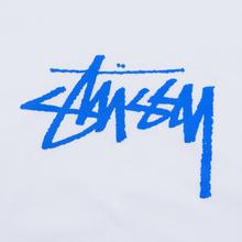 Женская футболка Stussy Stock White/Blue фото- 2