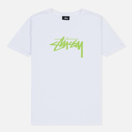 Женская футболка Stussy Stock White/Green