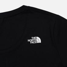 Женская футболка The North Face Fine TNF Black/TNF White Sherpa фото- 2