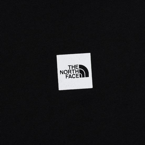 Женская футболка The North Face Fine TNF Black/TNF White Sherpa