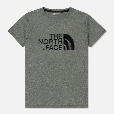 Женская футболка The North Face Tanken Medium Grey Heather/Black